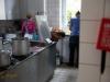 Hochbetrieb in der Küche
